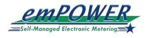 emPOWER Self-Managed Electronic Metering Logo